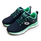 LIKA夢 LOTTO 專業輕量透氣慢跑鞋 TRON創跑系列 藍綠 2536 女