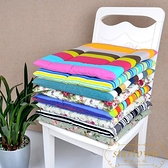 全棉印花帆布坐墊凳子椅墊辦公室沙發座墊【繁星小鎮】