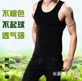 背心汗衫男士背心跨欄夏季厚款彈力青年中老年棉質緊身修身打底汗衫