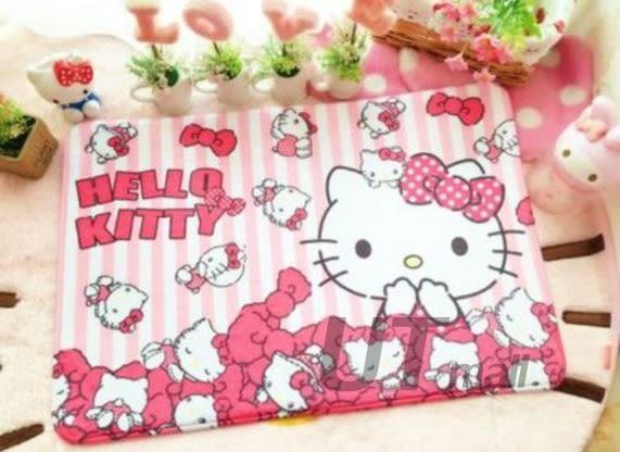 【UTmall】可愛卡通地毯 凱蒂貓、雙子星、美樂蒂地墊 門墊 腳墊 腳踏墊#522