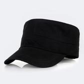 男士帽子戶外平頂帽男夏天女棒球帽春秋休閒鴨舌帽太陽軍帽遮陽帽