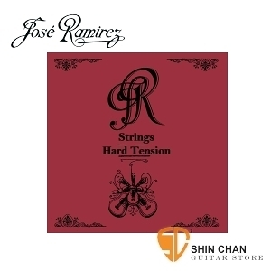 Jose Ramirez 世界頂級碳纖維古典弦(高張力)Hard Tension 紅色 【Jose Ramirez古典弦專賣店/尼龍弦】