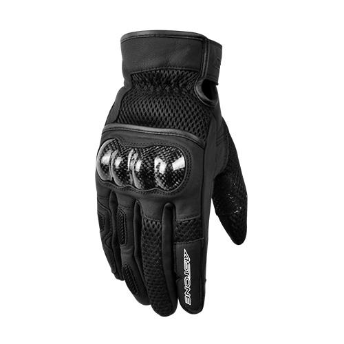 【東門城】ASTONE KC55 (黑) 夏季防摔手套 透氣設計 觸控功能