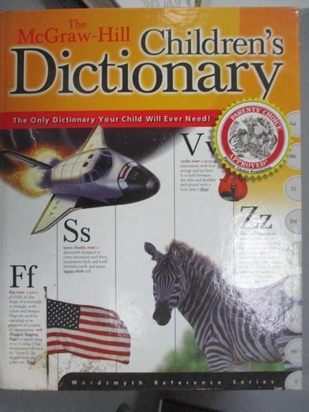 【書寶二手書T1/字典_WEX】The McGraw-Hill Children s Dictionary_Wordsmyth Collaboratory