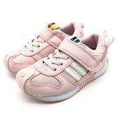 《7+1童鞋》中童 日本 IFME 粉紅泡泡  輕量 機能鞋 運動鞋  C448  粉色
