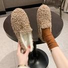 毛毛鞋 毛毛鞋女冬季外穿新款時尚加絨保暖...