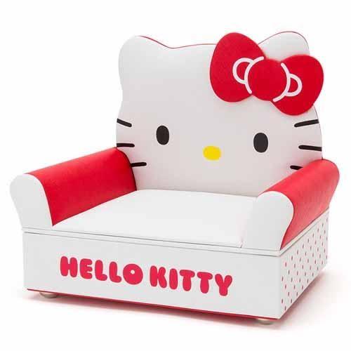 Hello Kitty 沙發造型首飾盒/723-403