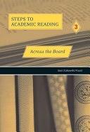 二手書博民逛書店《Across the Board: Building Academic Reading Skills》 R2Y ISBN:0030324823