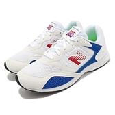 【五折特賣】New Balance 慢跑鞋 RC205 白 藍 男鞋 麂皮 復古 運動鞋 【ACS】 RC205AAD