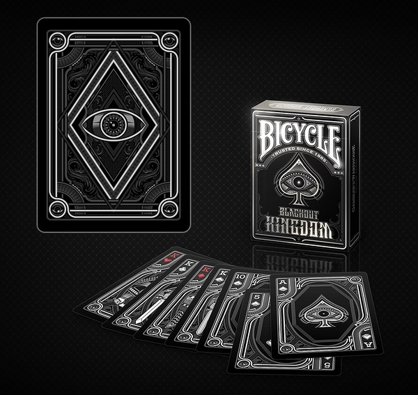 【USPCC 撲克】Bicycle blackout kingdom Playing Cards