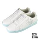 Royal Genesis 白色 皮質 套入 休閒鞋 女款 NO.J0304【新竹皇家 91901-040】