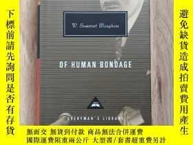 二手書博民逛書店Of罕見Human Bondage 人性的枷鎖 W. Somerset Maugham 毛姆 everymans