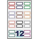 【奇奇文具】鶴屋 22-12 保護膜標籤可列印索引片8大張