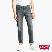 Levis 男款 514低腰合身直筒牛仔褲 / 黑灰水洗 / 黑皮牌 / 彈性布料