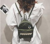 雙肩包後背包ins超火的時尚雙肩包女新款潮韓版原宿學生書包帆布百搭背包 99免運