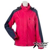 【PolarStar】女 防風保暖外套『桃紅』P20218 休閒 戶外 登山 吸濕排汗 冬季 保暖 禦寒