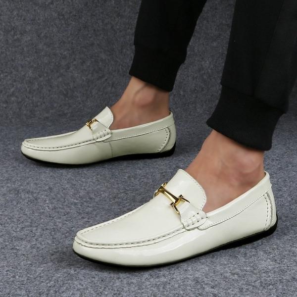 FINDSENSE品牌 秋款 新款 日本 男 高品質 休閒 真皮 透氣 圓頭皮鞋