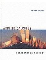 二手書博民逛書店 《Applied calculus》 R2Y ISBN:0395978173│GeoffreyC.Berresford