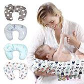孕婦枕 哺乳枕 U型枕靠枕 嬰兒餵奶枕頭-321寶貝屋