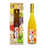 醋桶子-健康果醋單入禮盒-蘋果蜂蜜醋(600ml/入)