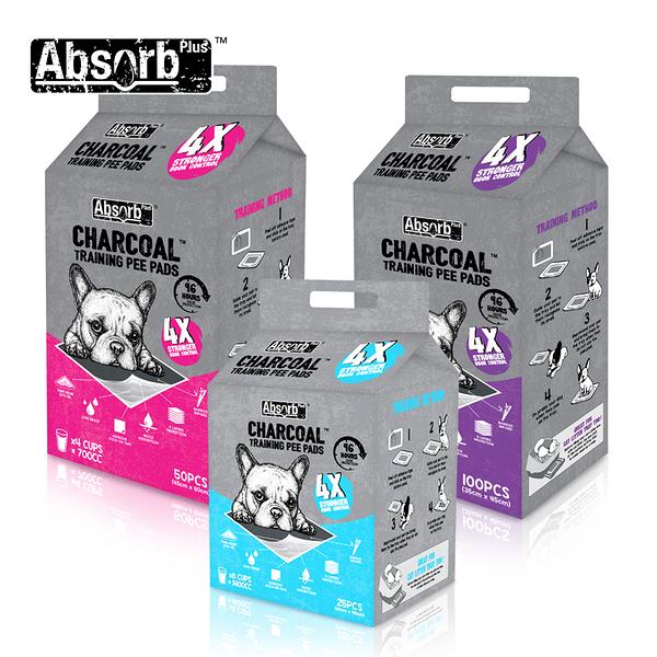 寵物家族-Absorb Plus 狠消臭尿布_活性碳(S/M/L)