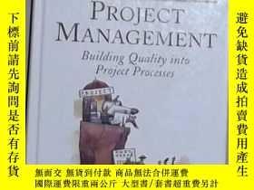 二手書博民逛書店英文原版罕見Customer-Driven Project Ma
