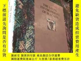 二手書博民逛書店THE罕見LEGAL ENVIRONMENT OF BUSINESS (SECOND EDITION)Y583
