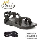 【速捷戶外】美國 Chaco Z/CLOUD 2 越野紓壓運動涼鞋 女款CH-ZLW02H405 -夾腳(黑),佳扣涼鞋,運動涼鞋