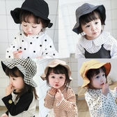 盆帽 帽子 韓版 兒童 外出 漁夫帽 遮陽帽 BW