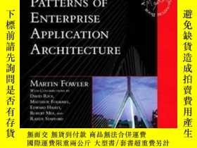 二手書博民逛書店Patterns罕見Of Enterprise Application ArchitectureY362136