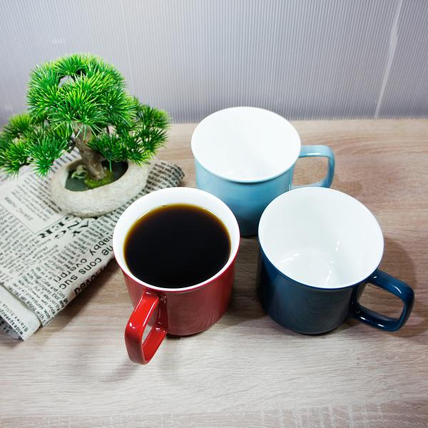 復古琺瑯瓷造型杯 馬克杯 陶瓷馬克杯 500ml(三色任選) 原點居家創意