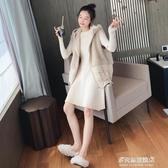 羊羔毛馬甲外套女-冬季新款韓版外穿網紅羽絨棉馬甲女短款羊羔毛馬夾背心外套潮 多麗絲