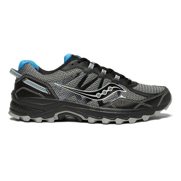 saucony 男 EXCURSION TR11 越野鞋SY20392-9【黑灰】 / 城市綠洲 (跑鞋、運動休閒鞋、EVERUN)