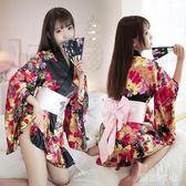 女式情趣內衣套裝性感日式印花和服清純可愛制服誘惑角色扮演服 QQ28080『東京衣社』