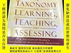 二手書博民逛書店A罕見TAXONOMY FOR LEARNING, TEACHING, AND ASSESSINGY17780
