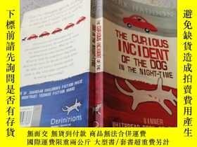 二手書博民逛書店the罕見curious incident of the dog in the night-time夜間狗的奇怪事