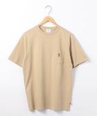 男裝 口袋T恤 USA美國棉 小熊刺繡  日本品牌【coen】