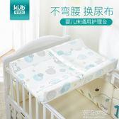 KUB可優比嬰兒換尿布臺寶寶按摩護理臺新生兒嬰兒床換衣撫觸臺igo『小淇嚴選』
