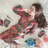 日式和服公主風睡衣可愛清新冬季家居服套裝