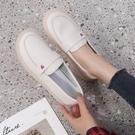 平底鞋 2021新款女鞋春季百搭韓版軟底不累腳護士鞋孕婦鞋一腳蹬豆豆鞋子 薇薇