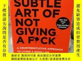 二手書博民逛書店The罕見Subtle Art of Not Giving a