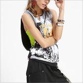 大挖袖背心罩衫 CTA543  (商品圖不含內搭/男女皆適宜)-百貨專櫃品牌 TOUCH AERO 瑜珈服有氧服韻律服