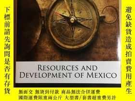 二手書博民逛書店Resources罕見and Developments of M