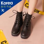 靴.側拉鍊馬汀工程靴-FM時尚美鞋-韓國精選.Fabulous