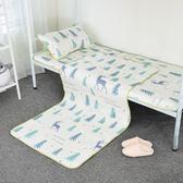 學生宿舍涼席北歐ins冰絲席0.9m夏季寢室單人床90cm寬席子可折疊 可可鞋櫃