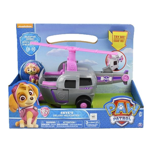 《 汪汪隊立大功 paw patrol 》豪華車輛組 - 天天的直昇機 ╭★ JOYBUS玩具百貨
