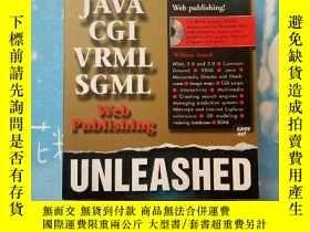 二手書博民逛書店HTML罕見JAVA CGI VRML SGML UNLEASH