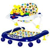 嬰兒幼兒童學步車多功能防側翻男寶寶女孩6/7-18個月手推可坐折疊