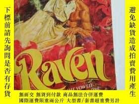 二手書博民逛書店Raven罕見英文原版口袋書 (清爽,內容完整不缺頁)Y1098