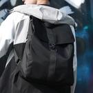 新品韓版街頭時尚潮流男士後背包大學生書包...